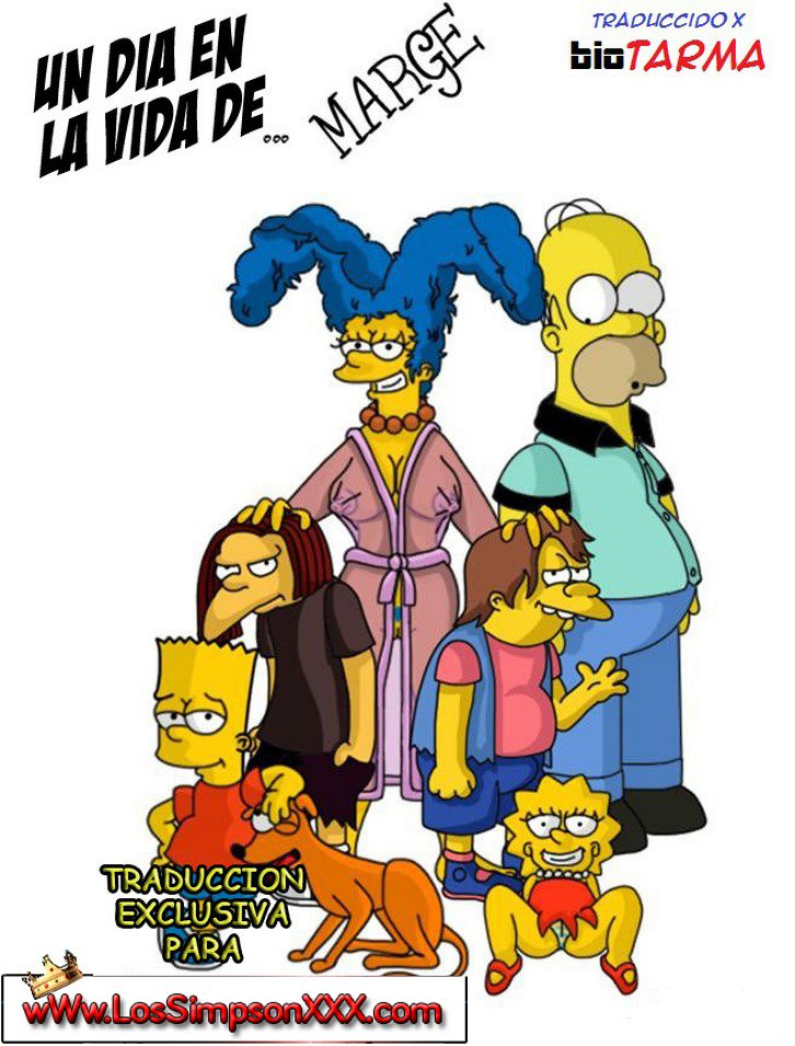 Marge teniendo Sexo en un dia normal