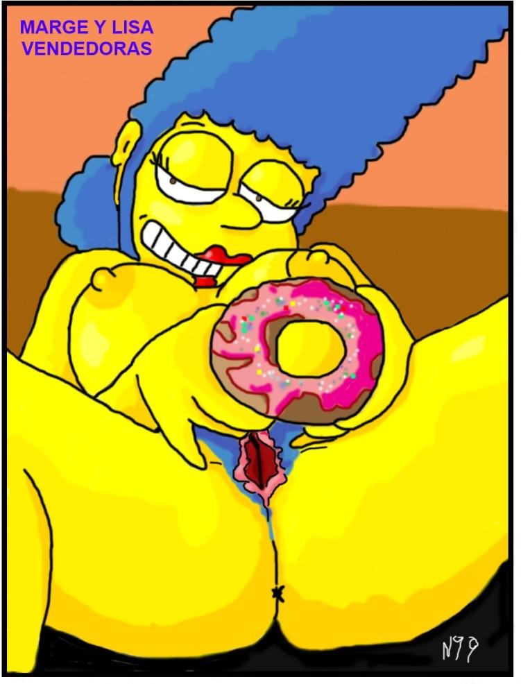Marge Y Lisa teniendo sexo XXX