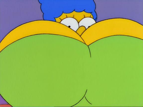 Fotos xxx de las tetas de Marge Simpson