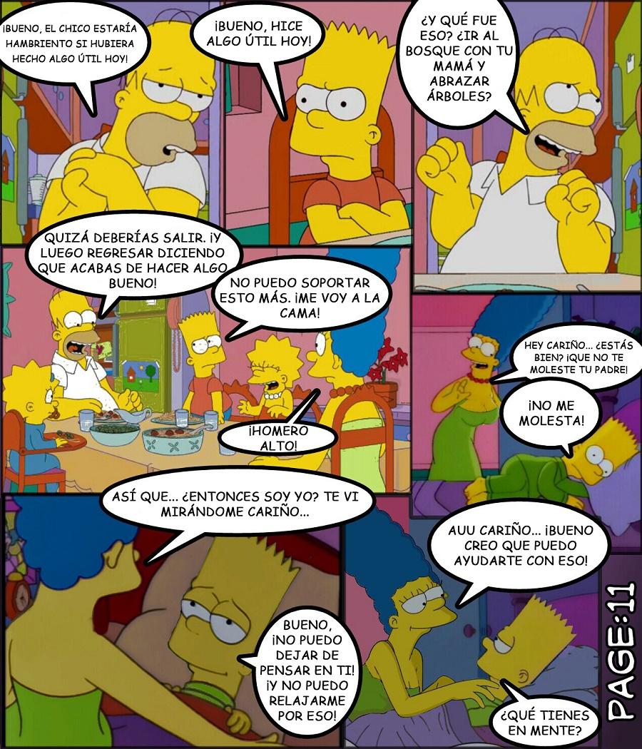 the simpsons porn comic strip