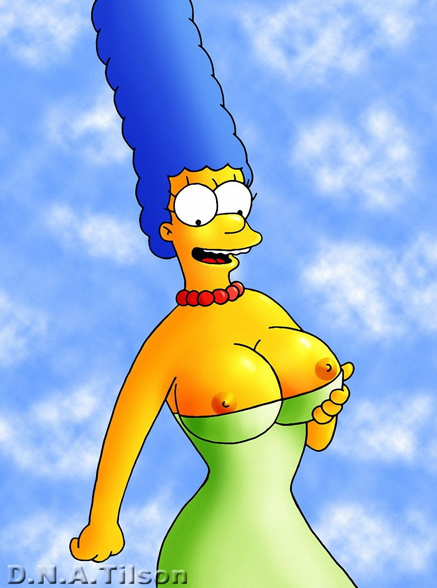 Marge simpson's boobs