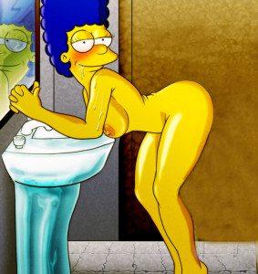 Imagenes de Marge Simpson Desnuda