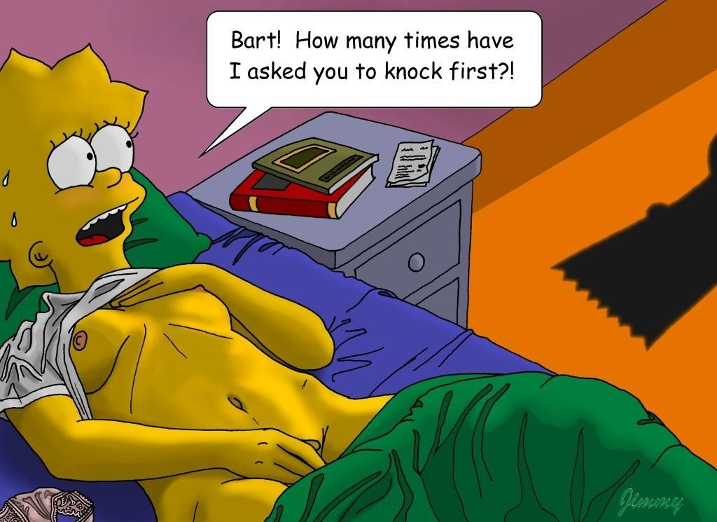 from Noel lisa simpson sexual stroirs
