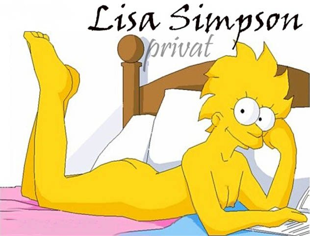 Fotos Hot de Lisa Simpson desnuda