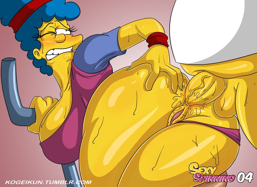 Marge simpson anal All above