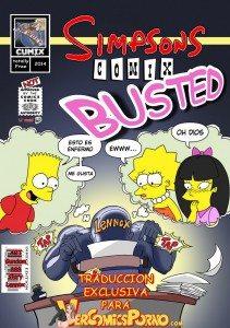 Bart y Lisa sexo en la escuela