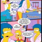 los simpsons xxx porno comics marge bart sexo_10