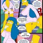 los simpsons xxx porno comics marge bart sexo_12
