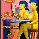 los simpsons xxx porno comics marge bart sexo_2