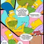 los simpsons xxx porno comics marge bart sexo_4