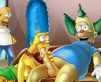 Video porno xxx Los Simpsons