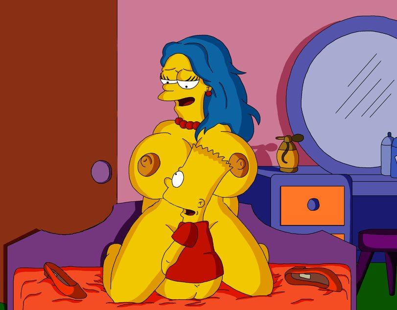 Mas imagenes xxx de Los Simpsons