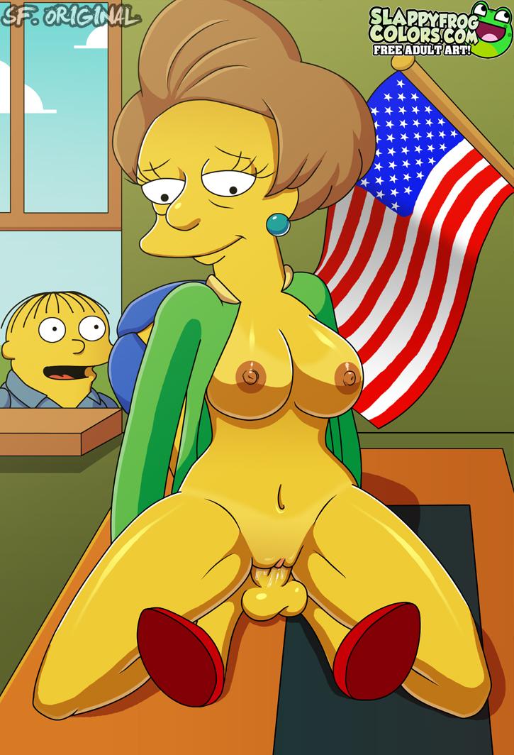 ... houten mas imagenes racy de los simpsons » simpsons-porno-milhouse