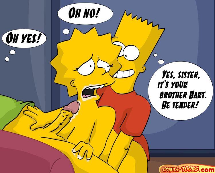 Comics XXX de Los Simpsons