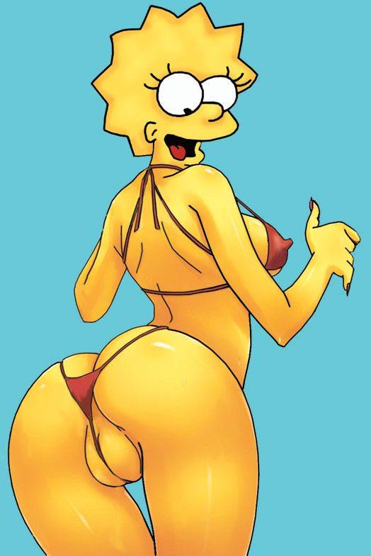Lisa en bikini sexy