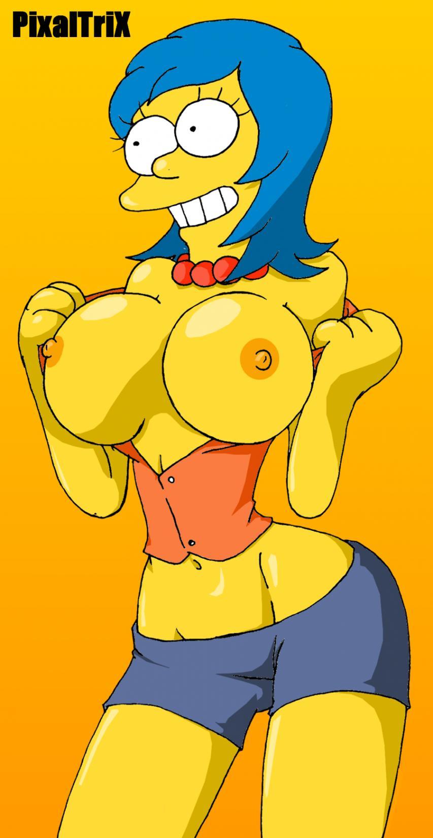 Galeria de Imagenes de Marge Simpson Desnuda