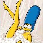 desnuda hot caliente Marge-Simpson-