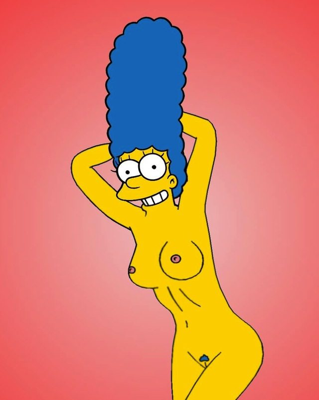 Marge simpson fotos desnudas en playboy