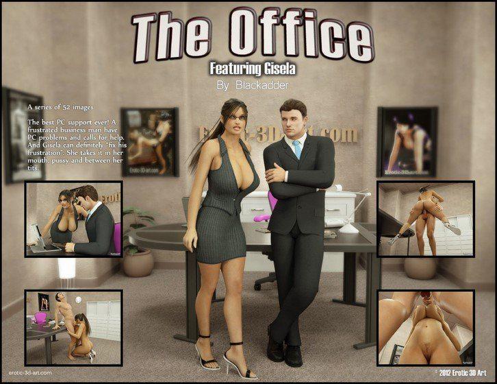 Blackadder the office