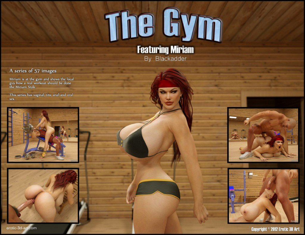 Blackadder The Gym