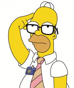 Ideas segundo comics de los Simpsons