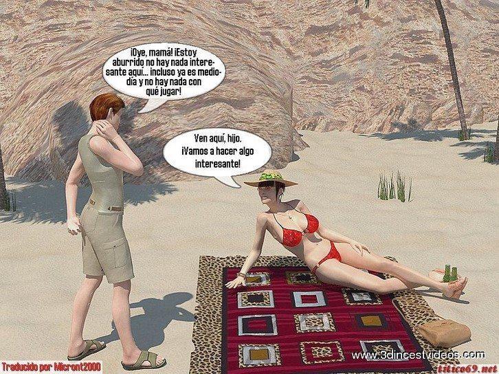 con-mama-en-la-playa 2