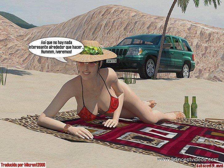 con-mama-en-la-playa 3