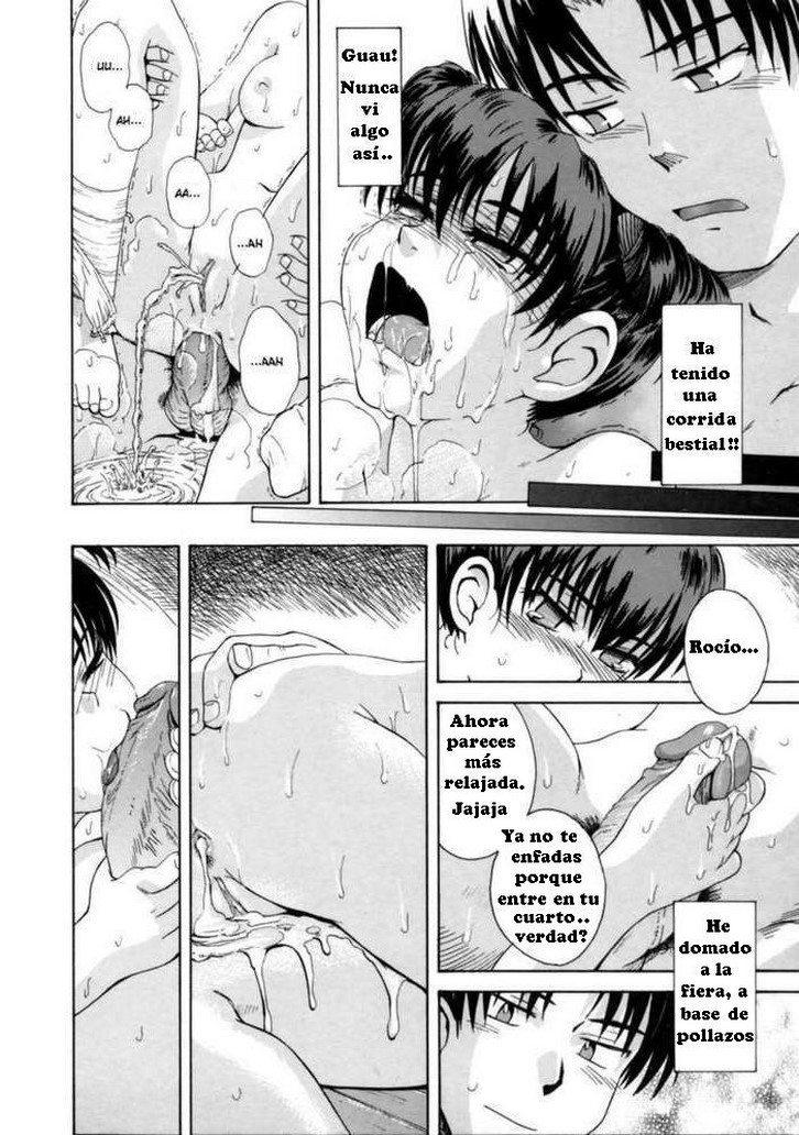 El diario de Rocio Manga de incesto