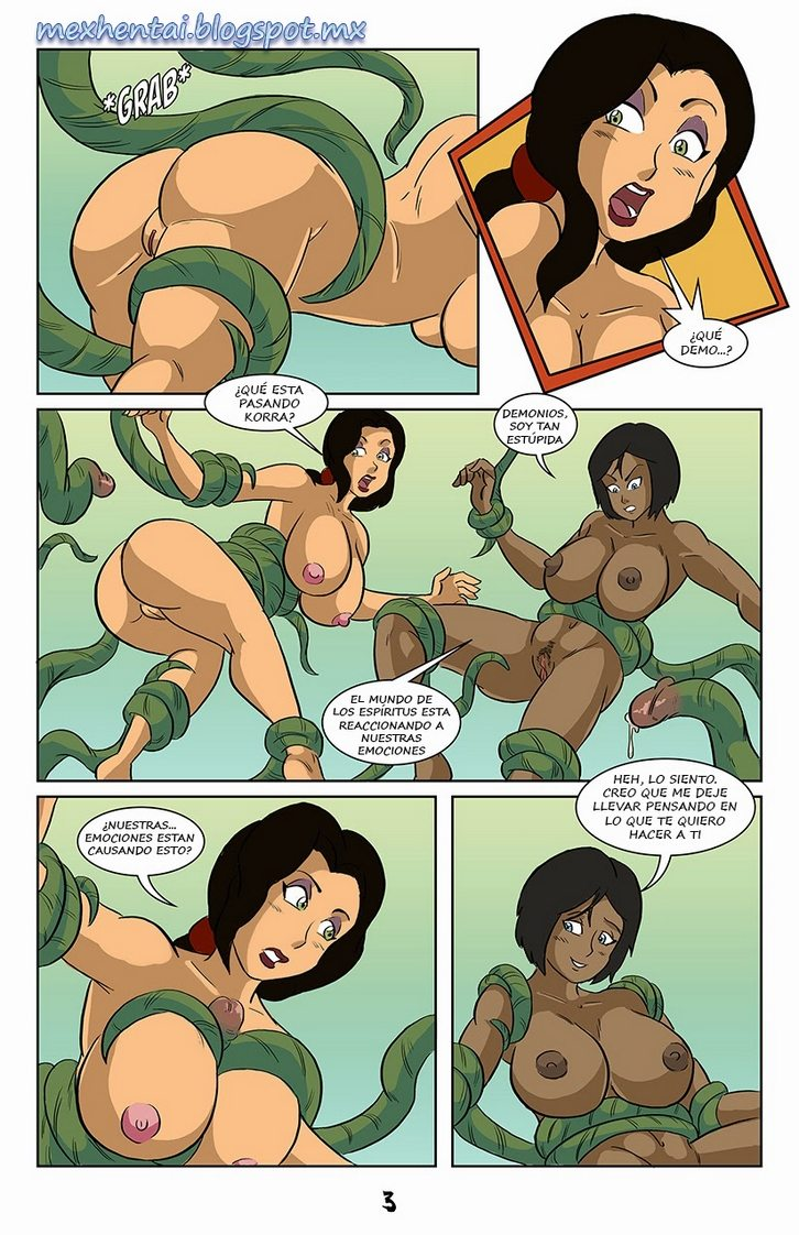 korra-and-asami-spirited-vacation 3