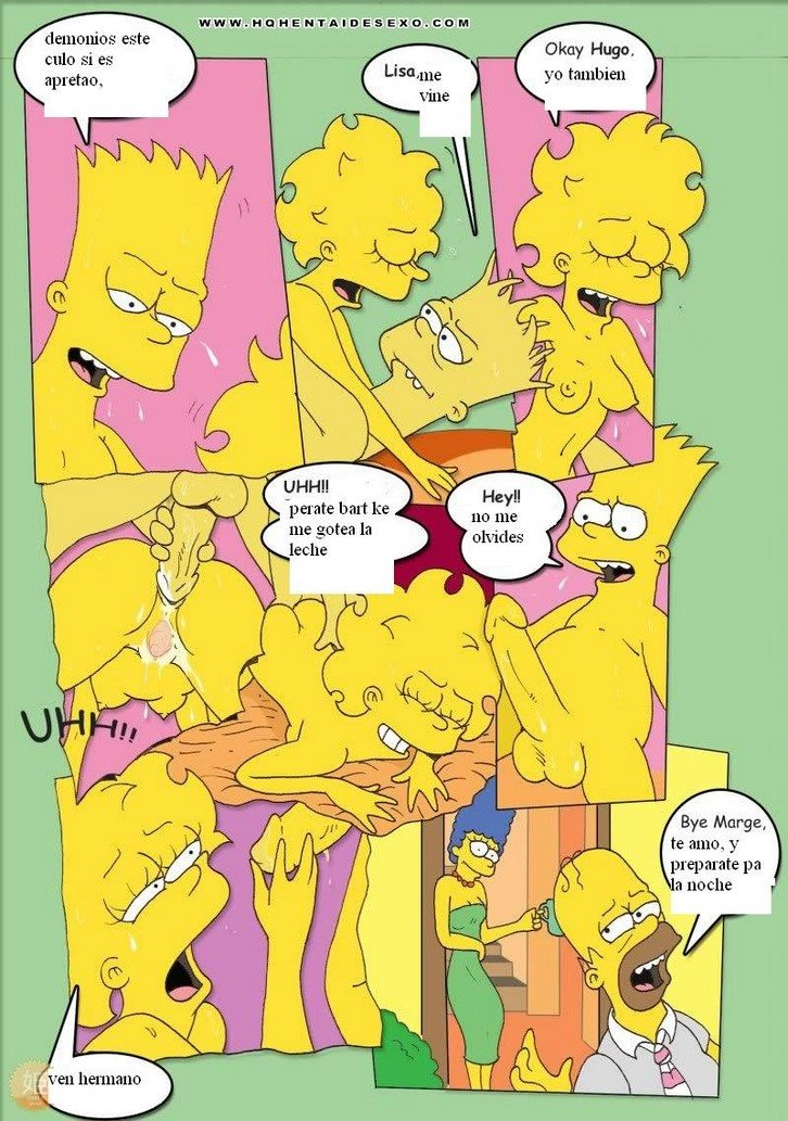 los-simpsons-bart-y-hugo-se-follan-marge-y-lisa 18