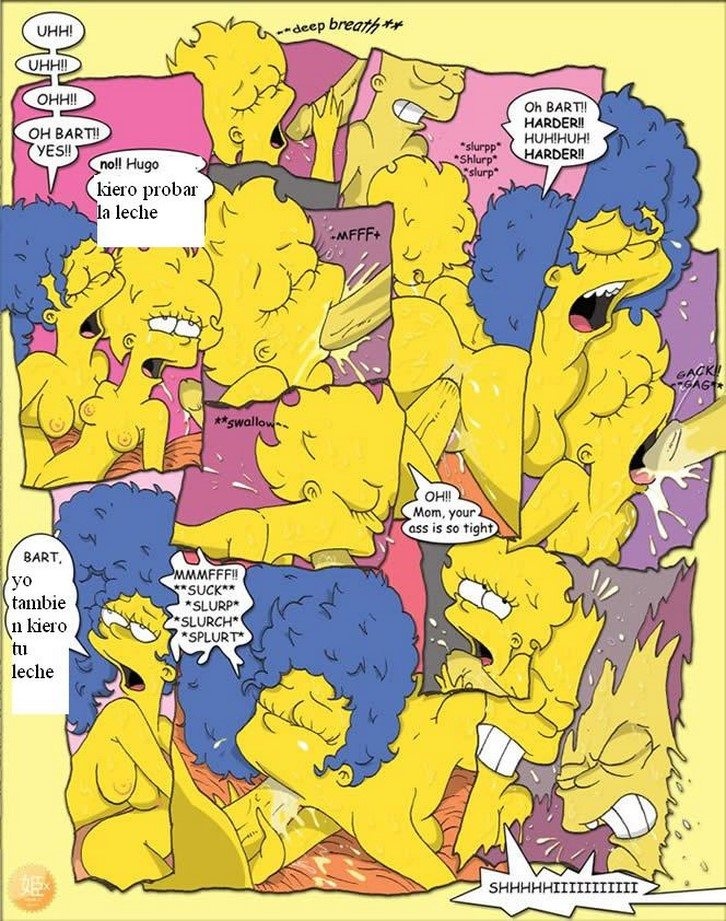 los-simpsons-bart-y-hugo-se-follan-marge-y-lisa 23