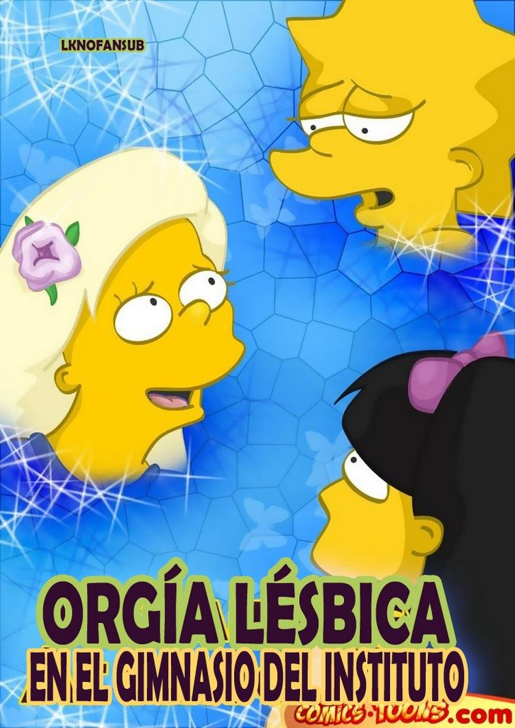 los-simpsons-orgia-lesbica 1