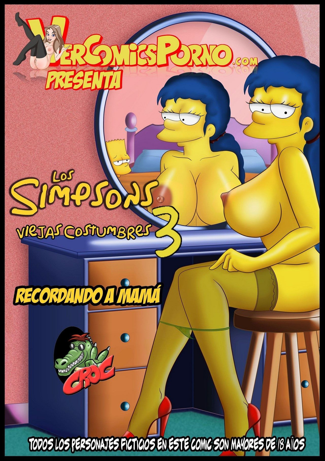los-simpsons-viejas-costumbres-3-original-exclusivo 1