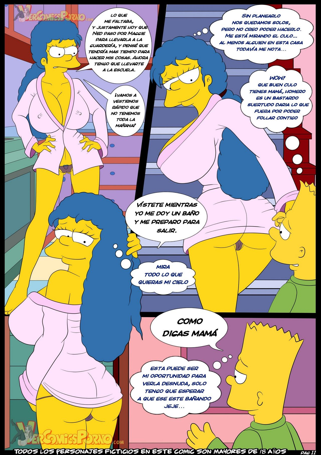los-simpsons-viejas-costumbres-3-original-exclusivo 12