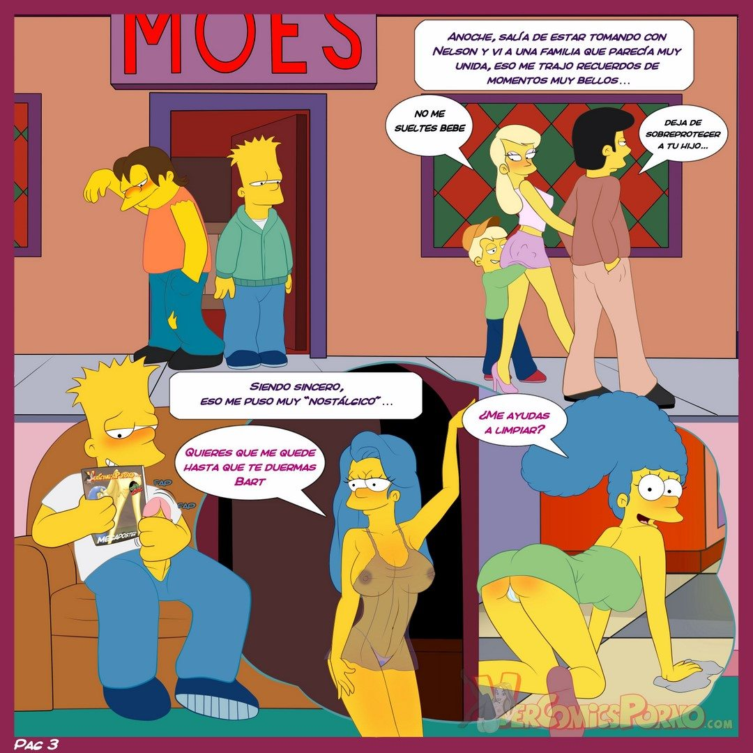 los-simpsons-viejas-costumbres-original-exclusivo 4