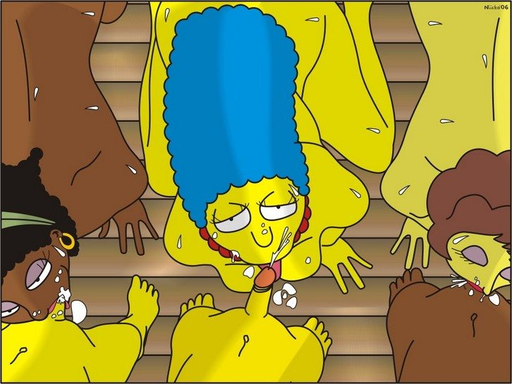 los-simpsons-y-futurama-mini-comics-porno 3