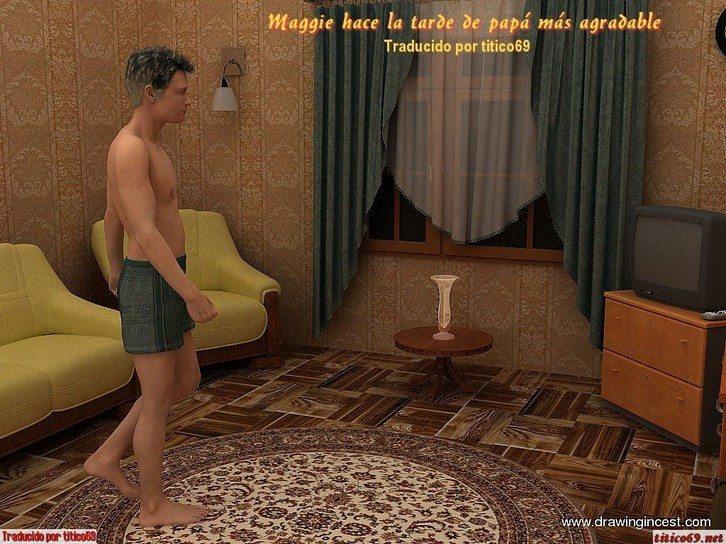 maggie-hace-la-tarde-de-papa-mas-agradable 1