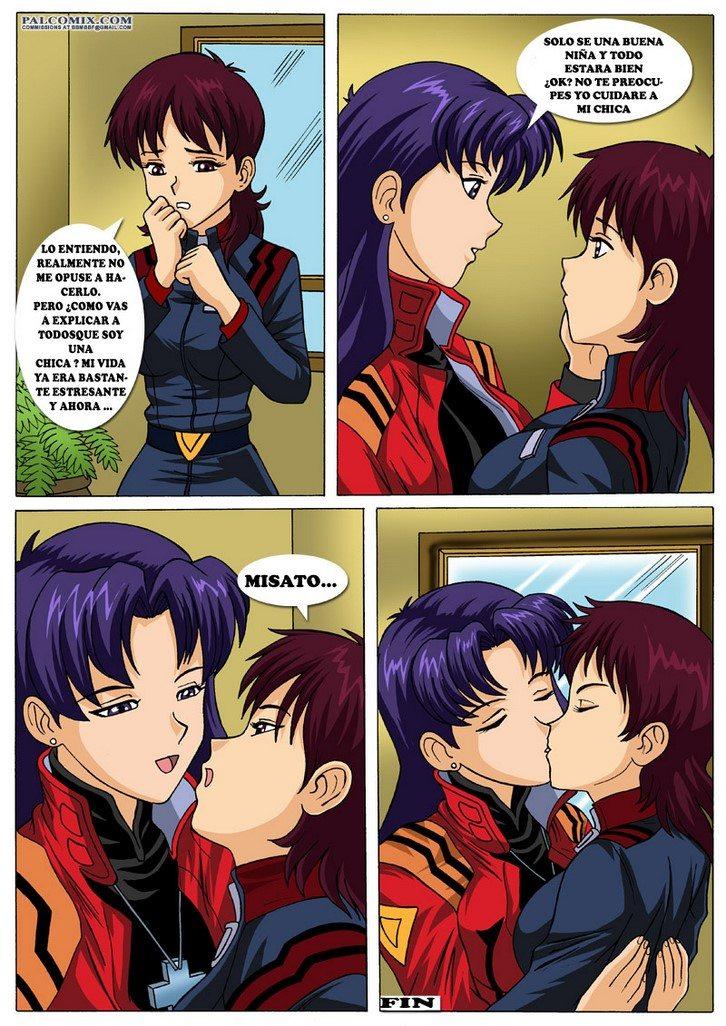 Misato's New Girlfriend