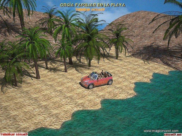 orgia-familiar-en-la-playa 1