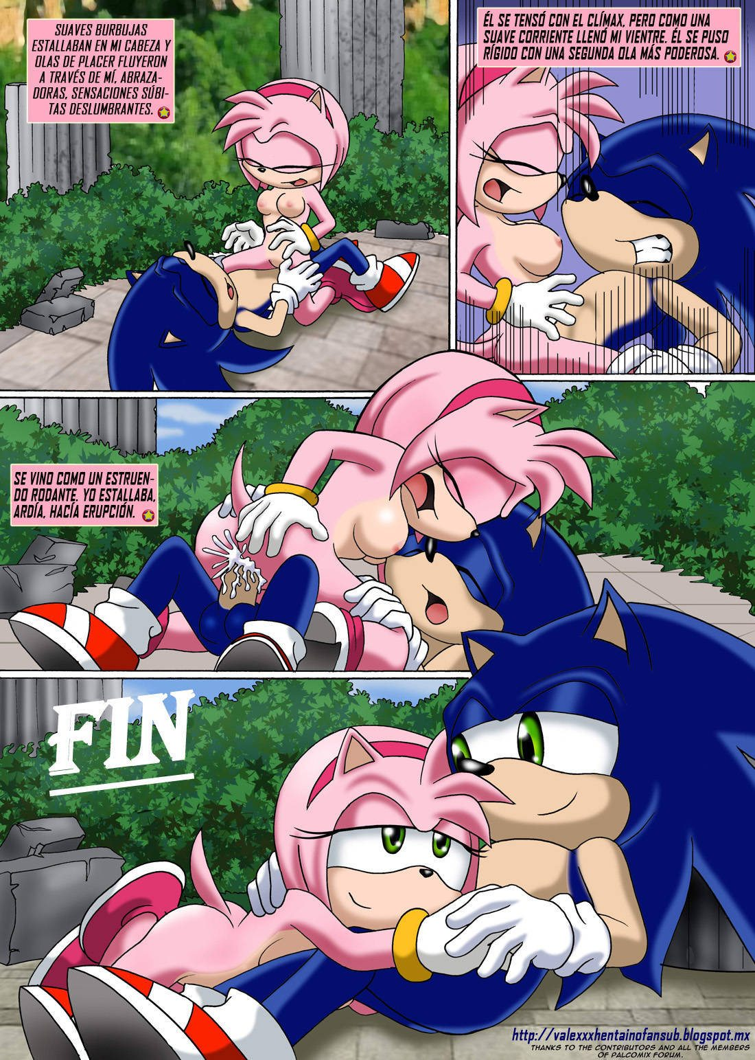 Proyecto Sonic XXX ? Parte 2