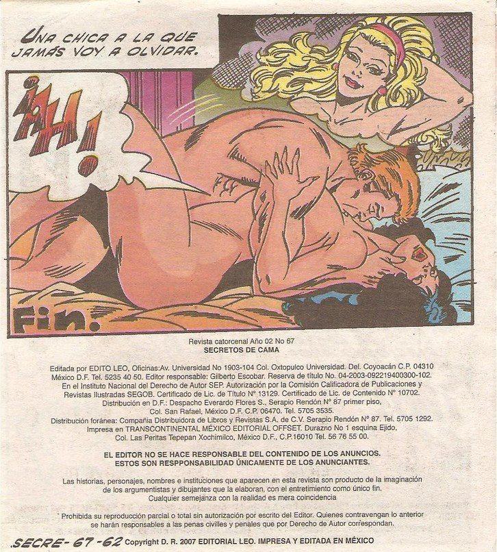 Secretos de cama 62