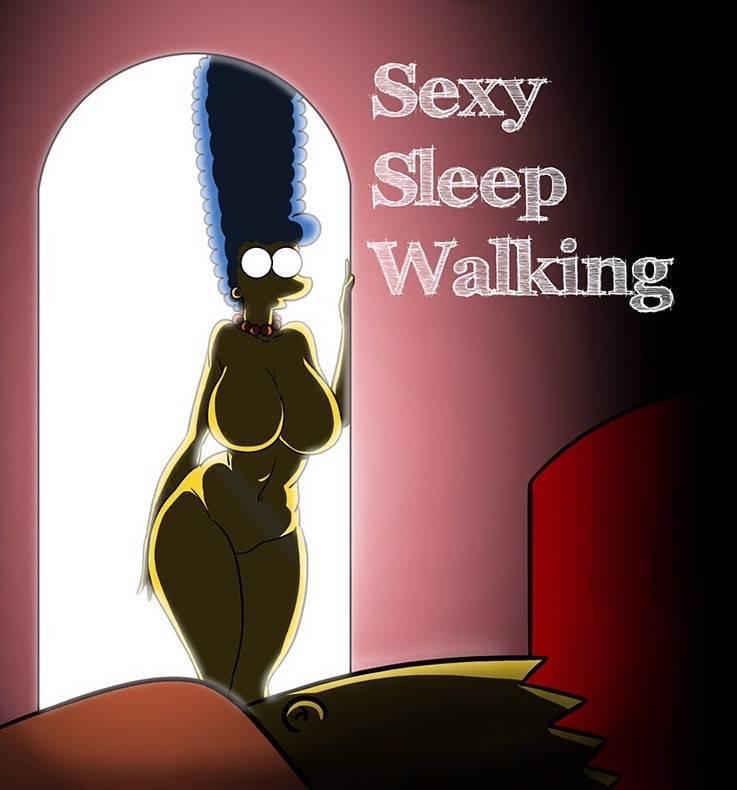 sexy-sleep-walking-simpsons-exclusivo 1