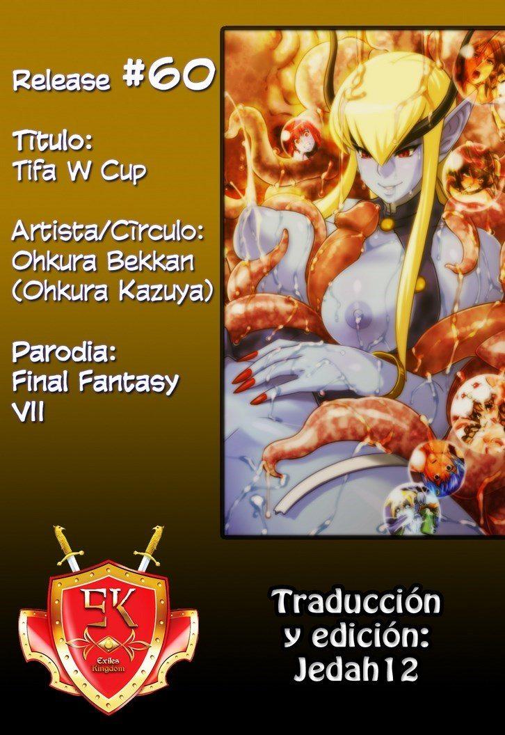 Tifa W Cup Final Fantasy VII