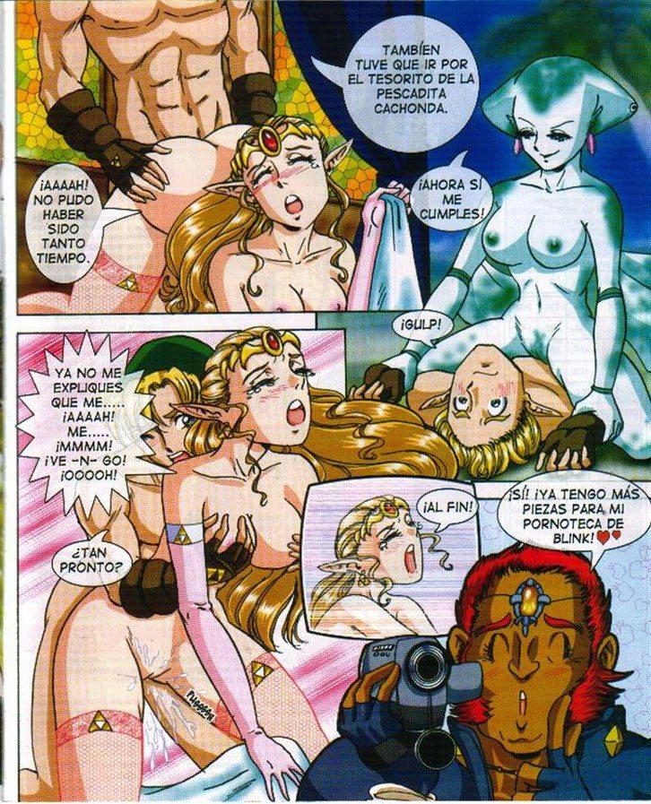 Zelda el follador salvaje